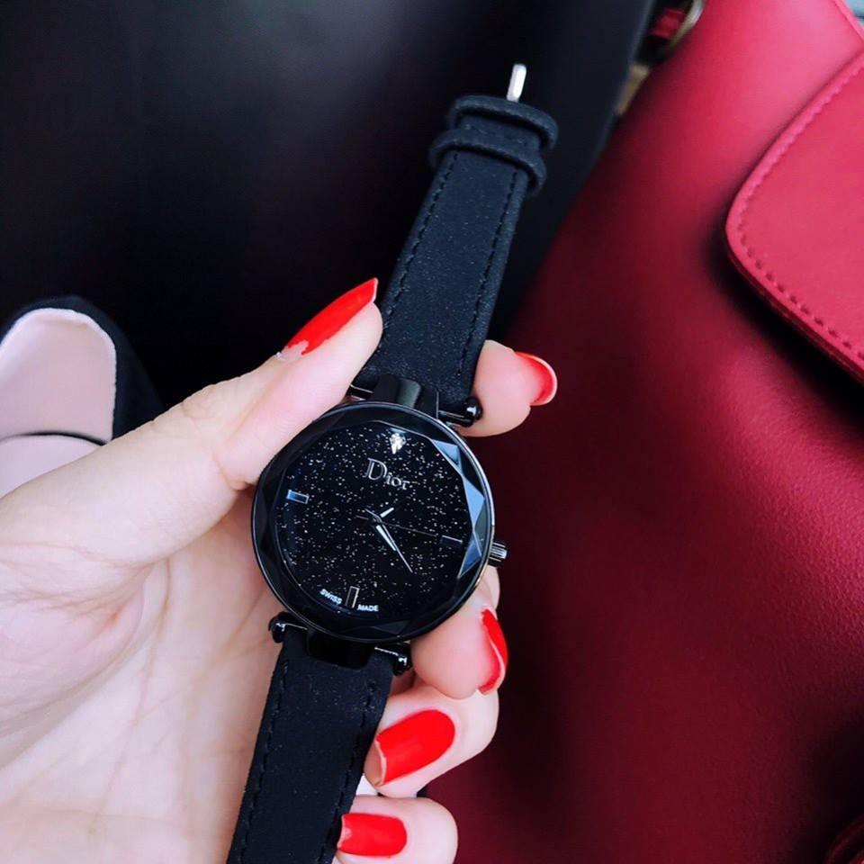 Đồng hồ nữ dây da bò cao cấp