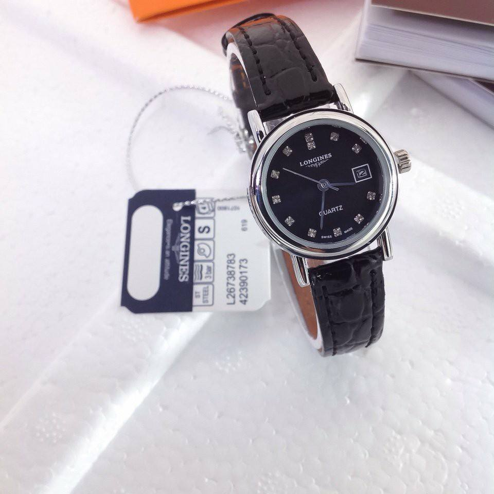 Đồng hồ nữ Longines dây da cao cấp