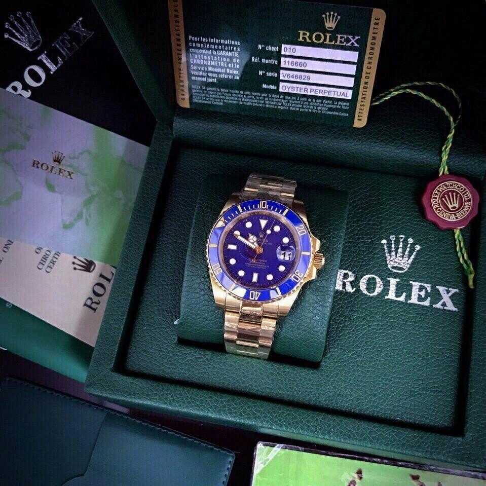 Đồng hồ nam Rolex cá tinh năng động