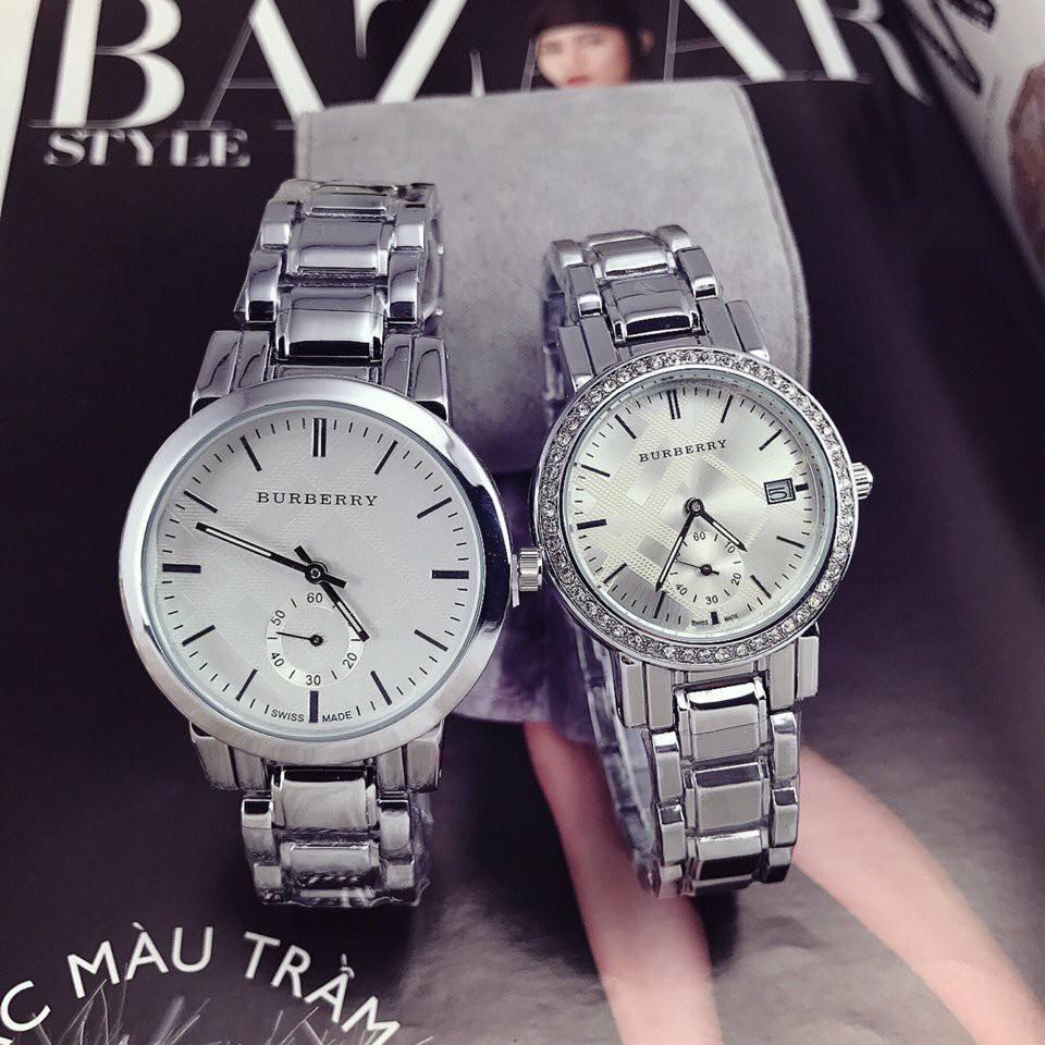 Đồng hồ cặp Burberry cao cấp