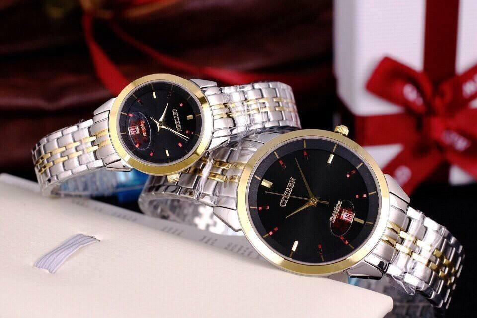 Đồng hồ đôi Citizen thương hiệu cao cấp