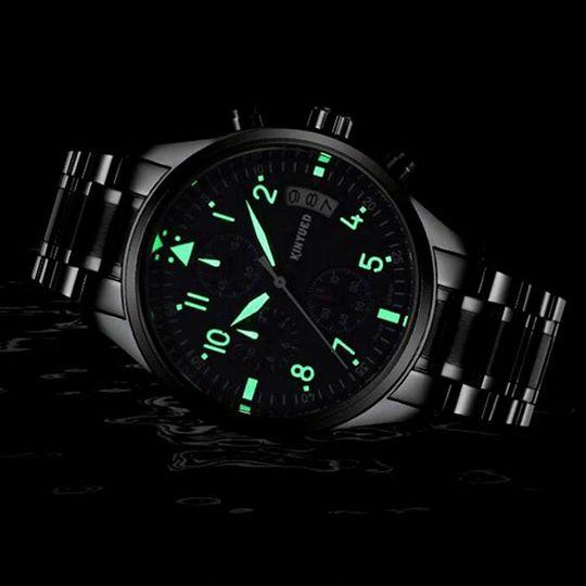 Đồng hồ nam Kinyued 6 kim