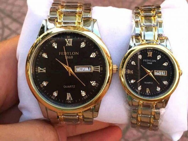 Đồng hồ Fefylon cặp