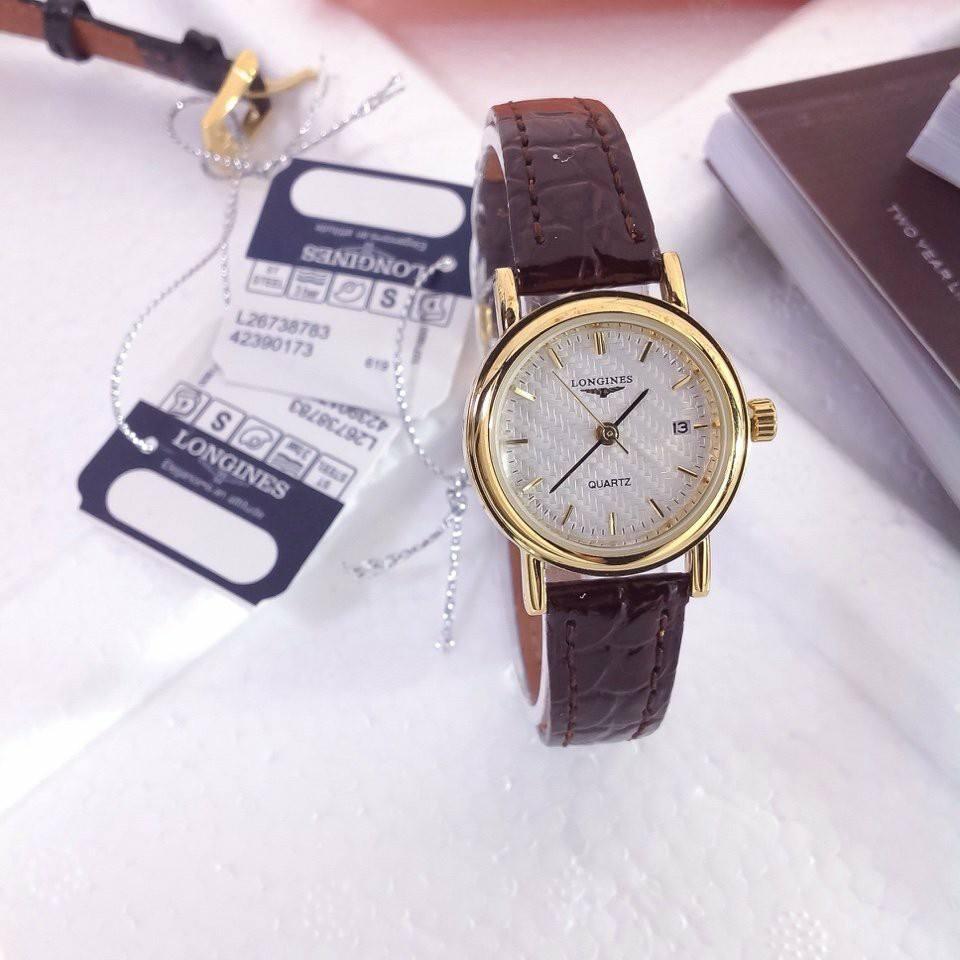 Đồng hồ dây da nữ cao cấp giá rẻ