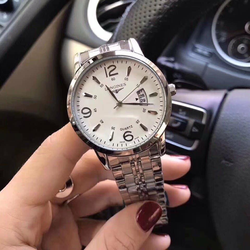 Đồng hồ nam Longines dây kim loại