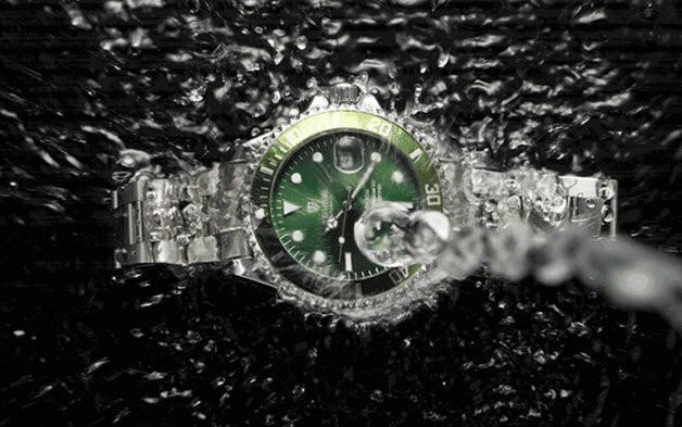 Đồng hồ nam Rolex dây kim loại không gỉ cao cấp