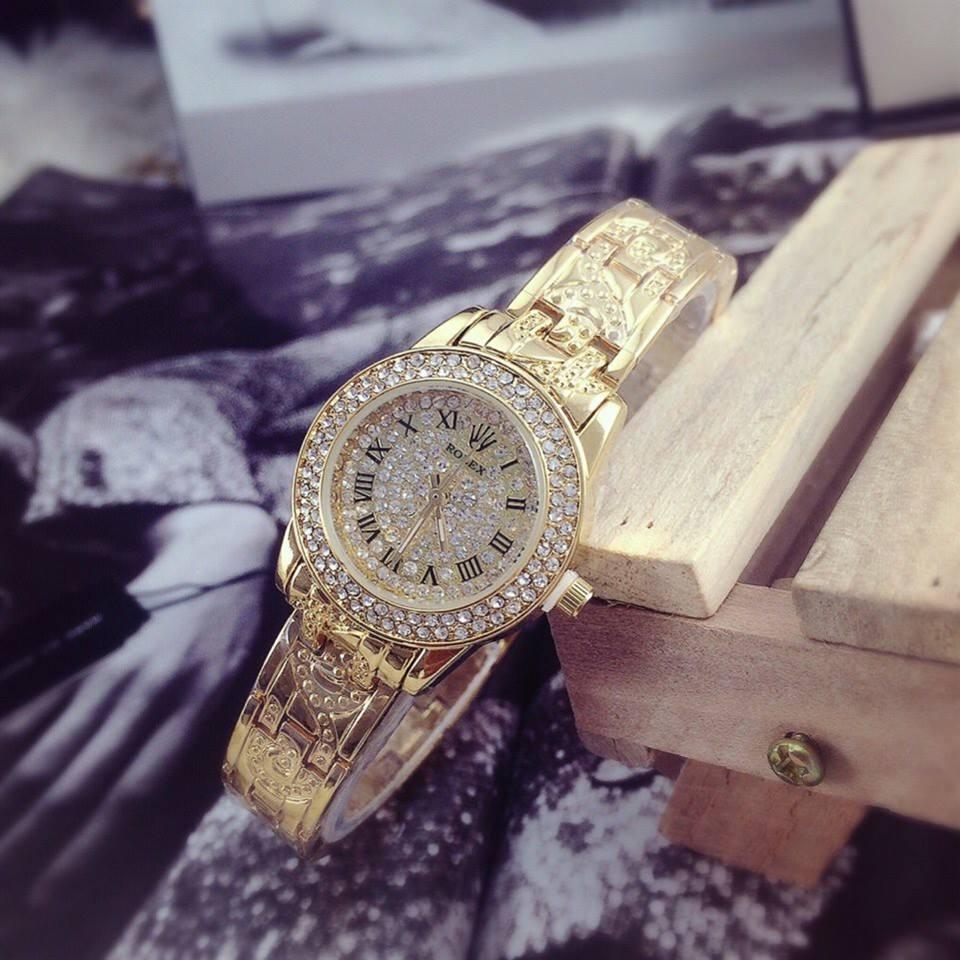 Đồng hồ nữ Rolex đính đá