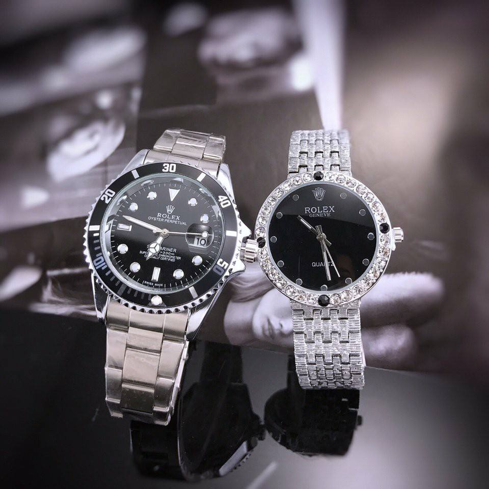Đồng hồ Rolex cặp thời trang cao cấp