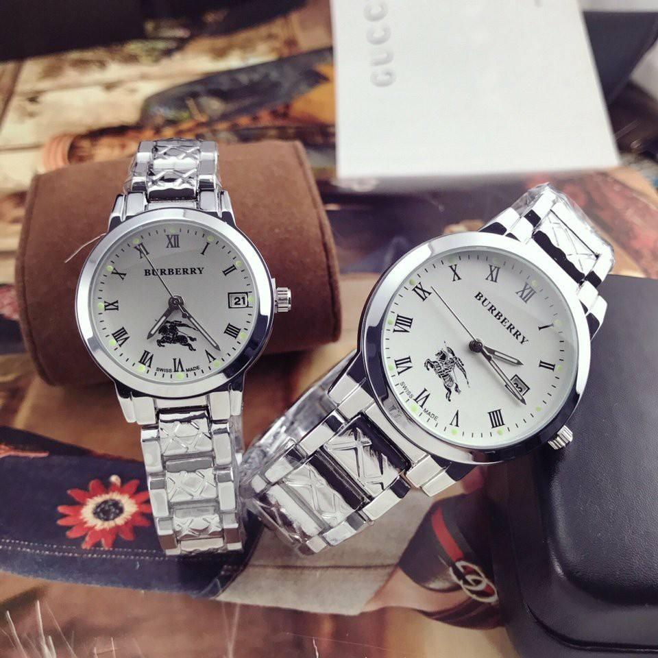 Đồng hồ đôi Burberry thời trang sang trọng