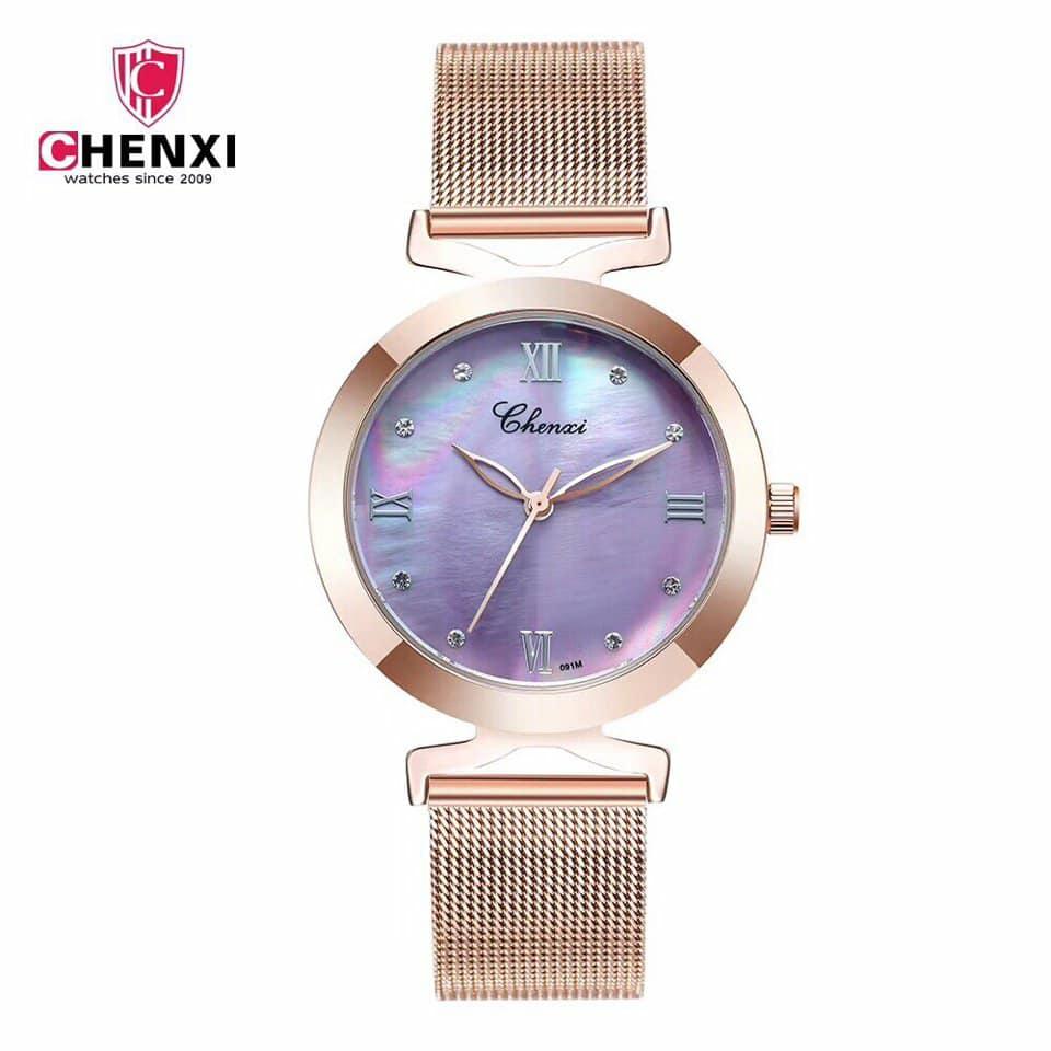 Đồng hồ nữ Chenxi thanh lịch, tinh tế