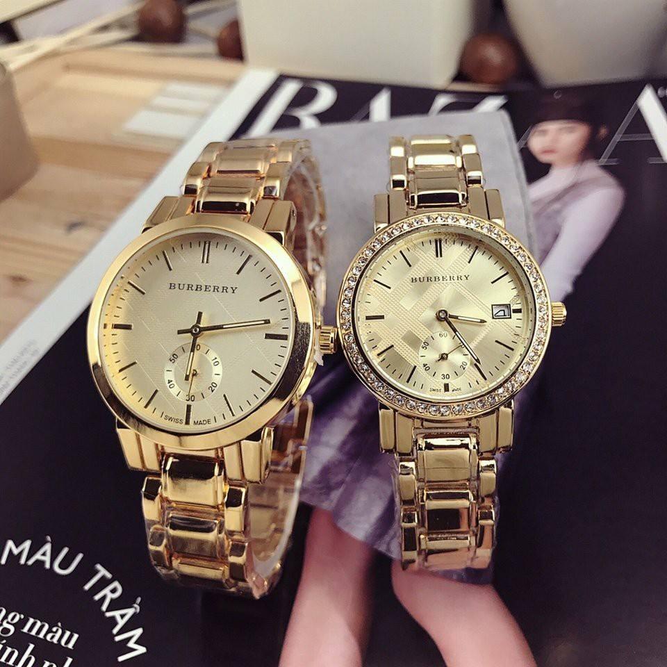 đồng hồ cặp Burberry tinh tế, sang trọng