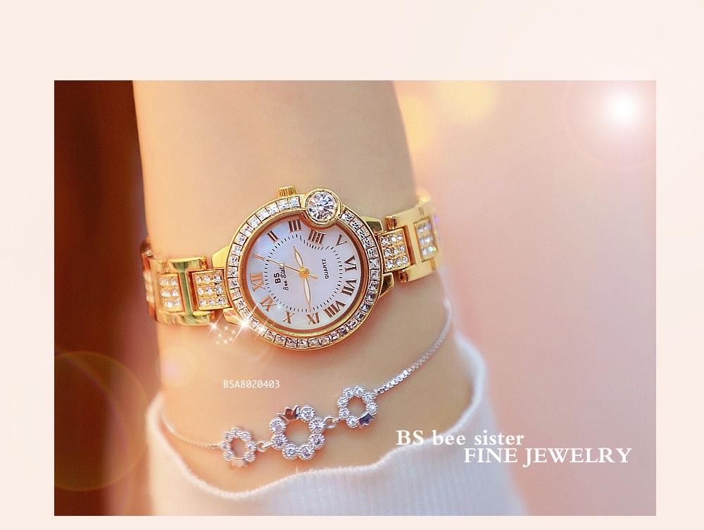 Top 10 đồng hồ nữ BS Bee Sister chính hãng giá rẻ