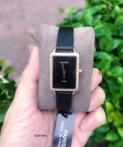 Đồng hồ chanel nữ dây da giá rẻ