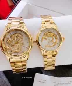 Đồng hồ cặp dây kim loại
