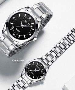 Đồng hồ Chenxi Cặp Nam nữ dây thép cao cấp