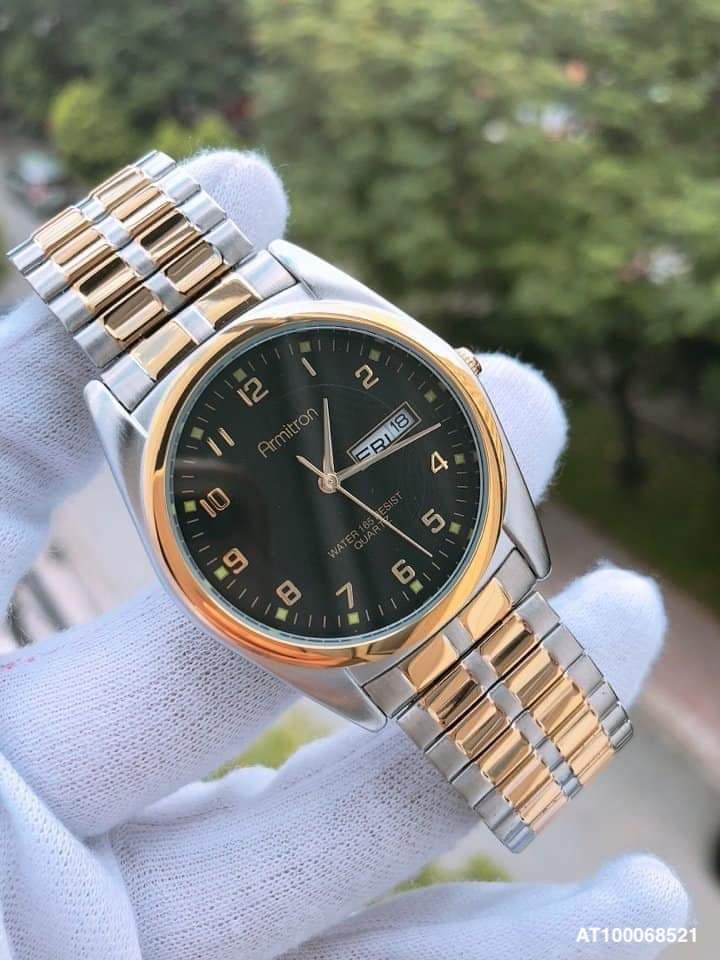 đồng hồ armani nam dây thép