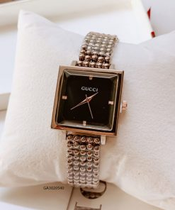 Đồng hồ gucci nữ mặt vuông