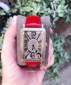 đồng hồ Franck Muller Geneve 647 Nữ dây da cao cấp