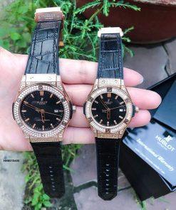 Đồng hồ cặp Hublot Genever Chronograph 582888 siêu cấp