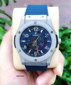 Đồng hồ Hublot Geneve Automatic 1101458 Nam Blue xanh siêu cấp