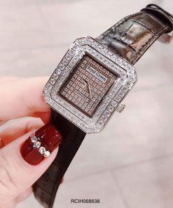 Đồng hồ dây da nữ chính hãng