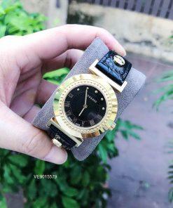 Đồng hồ versace nữ dây da chính hãng