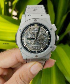 Đồng hồ Hublot Genever Chronograph namthể thao chạy full kim