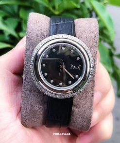 Đồng Hồ nữ Piaget Possession Replica 1:1 dây da đính đá full viền
