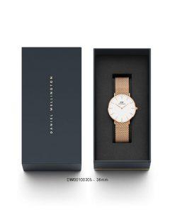 Đồng hồ Daniel wellington DW00100305 nữ Classic petite melrose 36mm