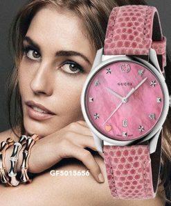 Đồng hồ Gucci nữ dây da cao cấp