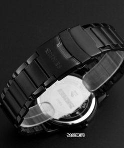 Đồng hồ skmei nam điện tử dây kim loại
