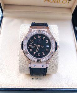 Đồng hồ Hublot Nữ Geneve Chronograph 582888 Đính đá