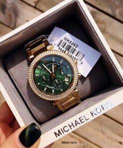 Đồng Hồ Michael Kors MK6263 Nữ dây kim loại viền full đá cao cấp