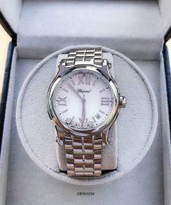 Đồng hồ Chopard Happy Sport dây kim loại cao cấp Replica 1.1