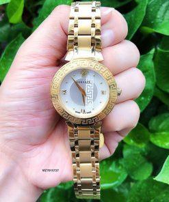 Đồng hồ Versace Daphnis Nữ dây kim loại vàng cao cấp