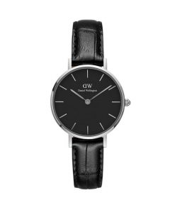 Đồng Hồ Daniel Wellington Nữ classic petite reading silver black 28mm