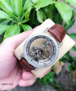 Đồng hồ corum nam máy lộ cơ trong suốt giá rẻ, đồng hồ nhật
