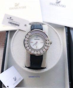 đồng hồ swarovski nữ đẹp dây da super fake giá rẻ tại tphcm hà nội