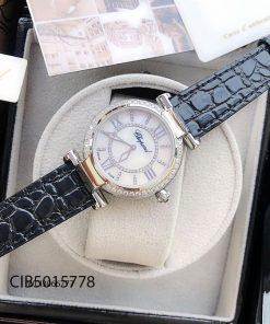 đồng hồ Chopard nữ đẹp dây da giá rẻ tại tphcm hà nội
