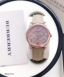đồng hồ Burberry nữ đẹp dây da giá rẻ tại tphcm hà nội