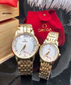 Đồng hồ Omega nam dây thép không gỉ cao cấp