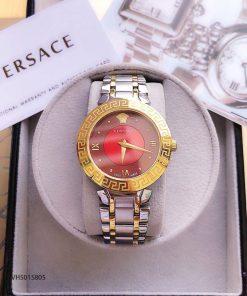 Mẫu đồng hồ cặp Versace nữ đẹp dây kim loại cao cấp giá rẻ tại tphcm