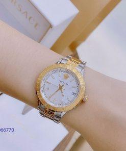 Đồng hồ Versace nam nữ super fake dây kim loại giá rẻ tại tphcm