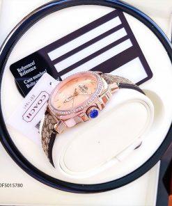 đồng hồ Coach nữ đẹp dây da giá rẻ tại tphcm hà nội