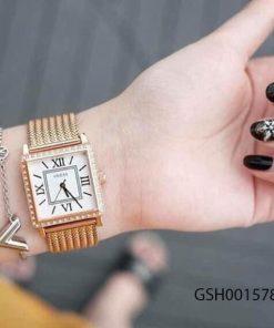đồng hồ guess nữ đẹp dây kim loại giá rẻ tại tphcm hà nội