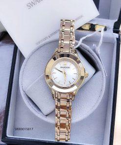 đồng hồ swarovski nữ đính đá dây kim loại cao cấp giá rẻ tại tphcm, đồng hồ super fake đẹp nhất 2020