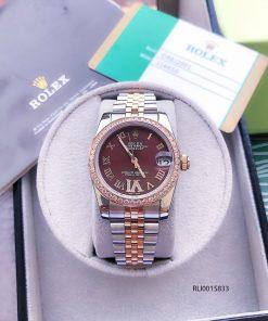 đồng hồ rolex nữ dây kim loại chính hãng tại việt nam, đồng hồ rolex fake giảm 90