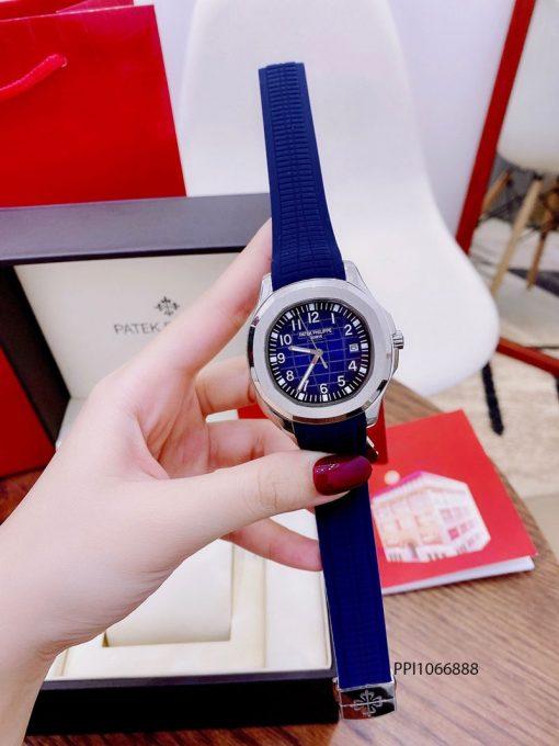 Đồng hồ nam Patek Philippe Aquanaut máy cơ dây ca cao su cao cấp giá rẻ