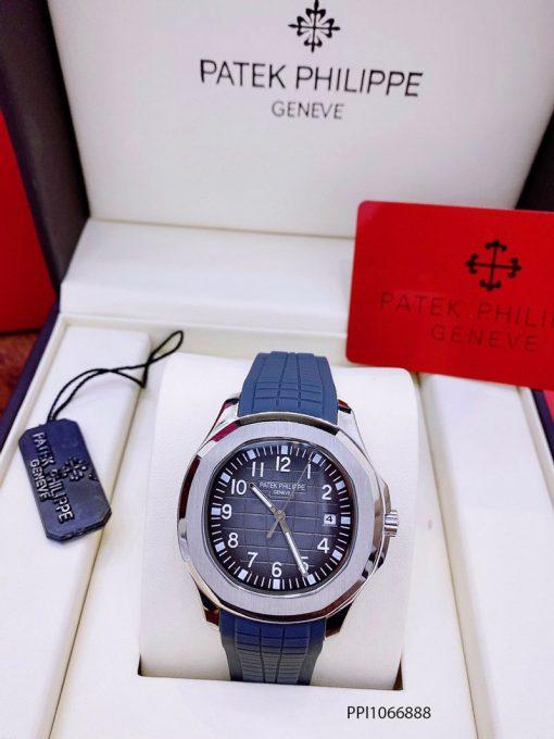Đồng hồ nam Patek Philippe Aquanaut máy cơ dây ca cao su thiên nhiên cao cấp giá rẻ