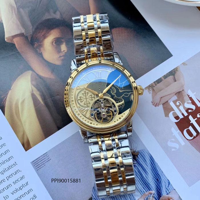 Đồng hồ nam Patek Philippe máy cơ lộ cao cấp
